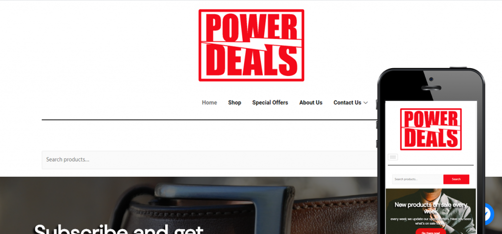 power-deals-website